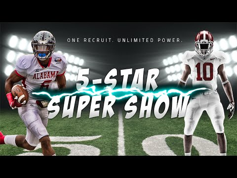 Future Alabama receiver T.J. Simmons showcases superhuman abilities: 5-Star Super Show