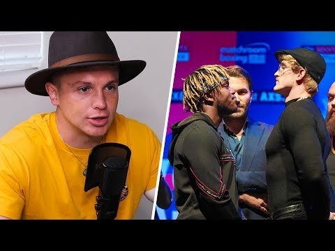 Joe Weller on KSI v Logan Paul UK Press Conference and Being Salty
