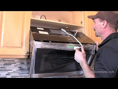 how-to-install-a-microwave-[over-the-range-style]