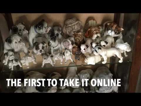 English Bulldog Memorabilia Collection