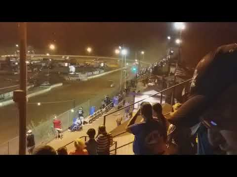 Sprint Car Race at Lancaster, SC July 2018