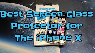 Gadget Guard : Best tempered glass screen protector for the iPhone X!