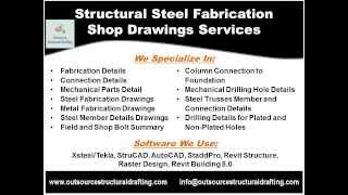 Outsource Structural Steel Fabrication Drawings Services