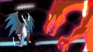 Leon vs Alan - Mega Charizard X vs Gigantamax Charizard [Hostage AMV]