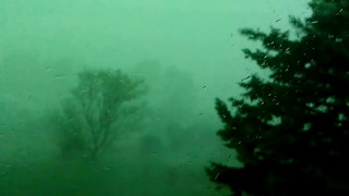 Microburst in Wellsville, NY 05/01/2017 4:53pm
