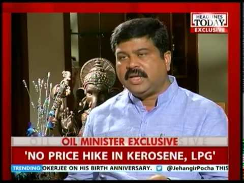 In conversation with Oil minister Dharmendra Pradhan