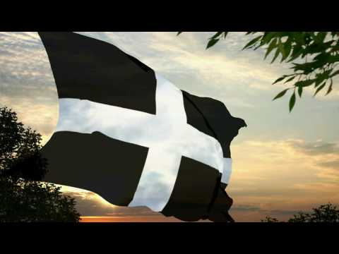 Flag and *anthem of Cornwall