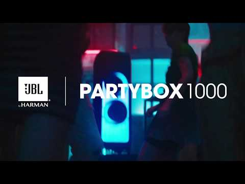 JBL PartyBox 1000 | Powerful Bluetooth Party Speaker With Full Panel Light Effects
