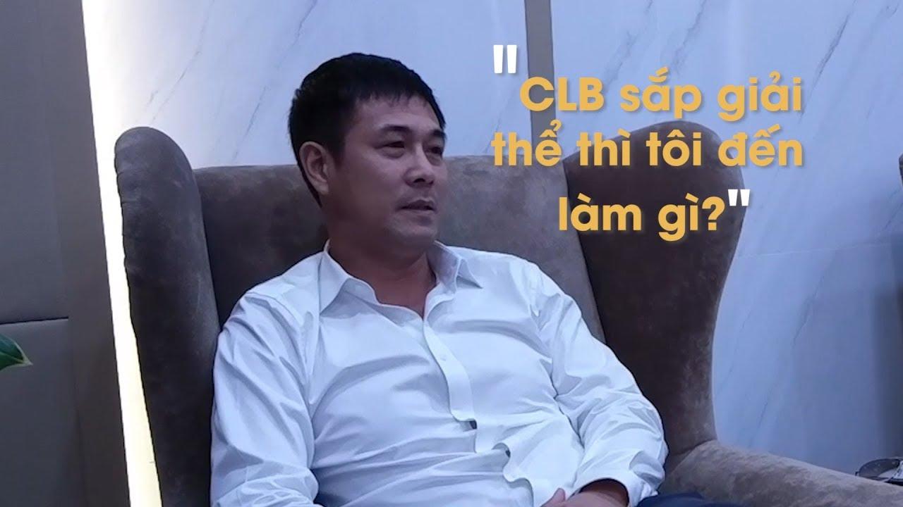 Hữu Thắng phát biểu đanh thép trong ngày thay Công Vinh làm chủ tịch CLB TPHCM