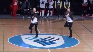 3. mesto Zala Košiček in Neža Koprivnik (hip hop pari mladinci) DP-16