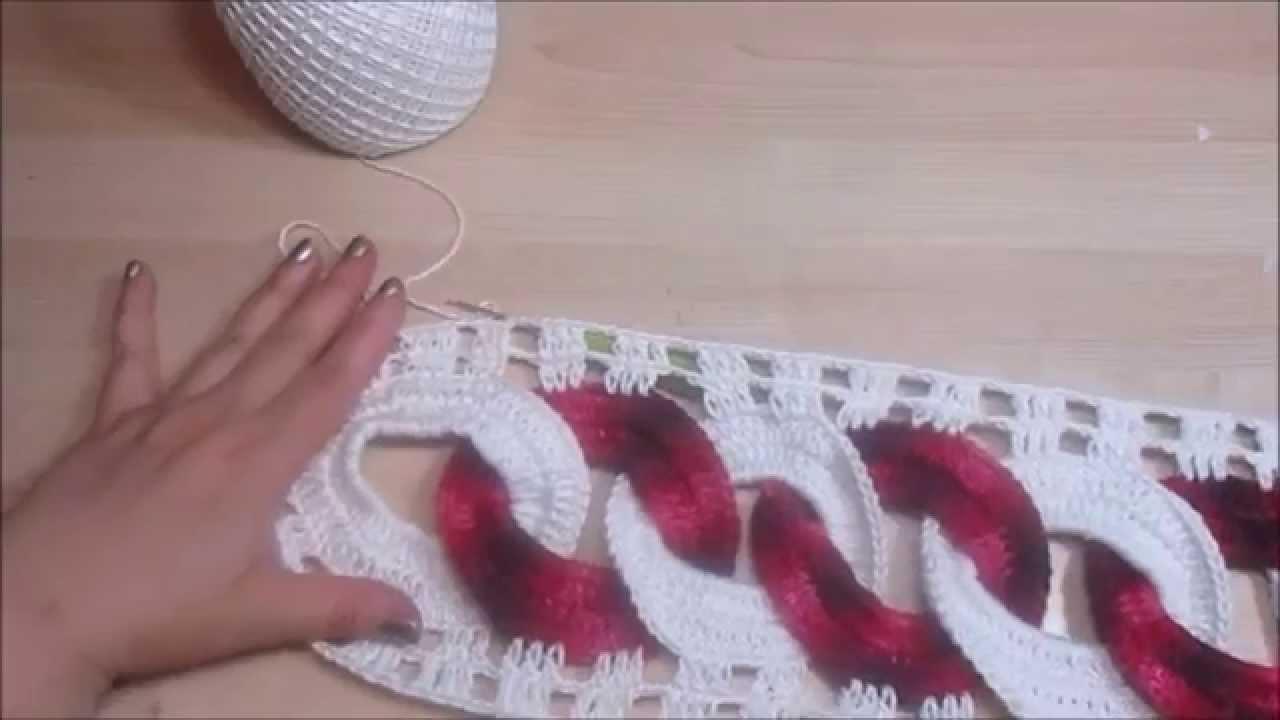 Crochet Uncinetto Centro Tavola Elo Youtube