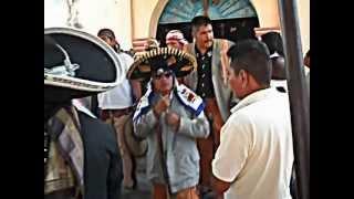Gañanes en la Capilla de Kalpulpa, Tetelcingo, Morelos