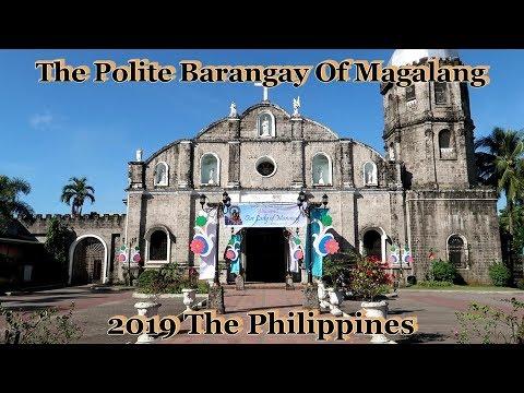 Walking Through The Polite Barangay Of Magalang : 2019 The Philippines