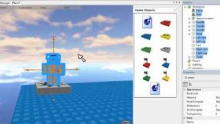 How to make a model of you in roblox *WORKS*