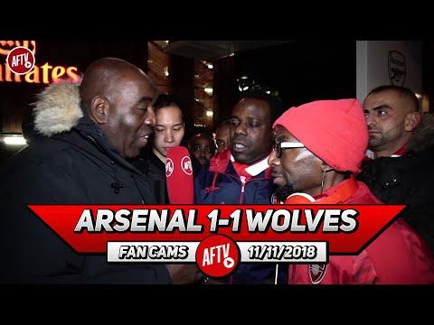 Arsenal 1-1 Wolves | Stop Mentioning Arsene Wenger!! (Ty & Belgium)