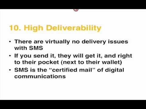 Text Message Revolution -  Mobile Marketing