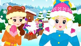 공주님 겨울캠프 1~3편 연속보기 | 겨울철 안전 수칙 지키기 | 맛있는 겨울 간식 | 안전 교육 | 어린이 동화 연속보기★지니키즈