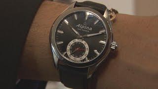 Une montre de luxe connectée signée Alpina