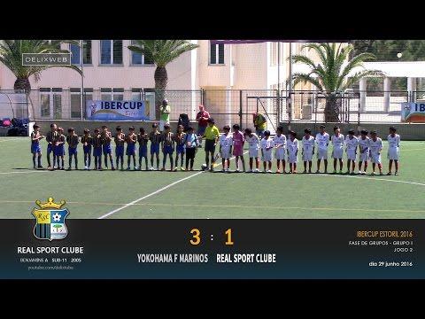 Yokohama F Marinos (3-1) Real Sport Clube - IBERCUP 2016 U11