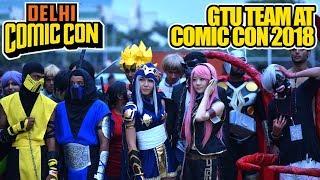 Comic Con 2018, GTU Team Shopping Challenge, GTU Masti, Cosplay Winner, Comic Con Shopping