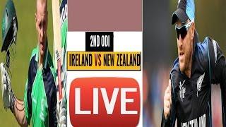 Newzealand vs Ireland--Tri Nation Series--2nd odi---2017--live