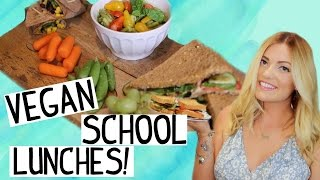 Easy & Healthy VEGAN LUNCH IDEAS for Back to School!