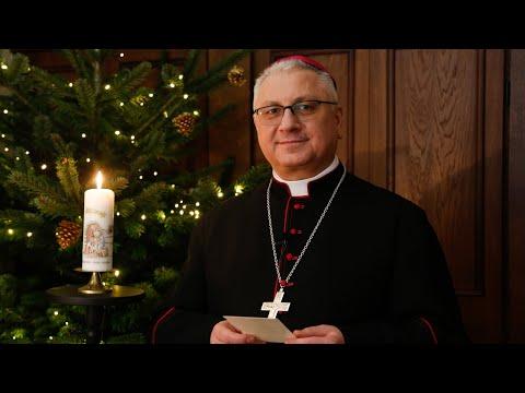 Bp Miziński - Życzenia Bożego Narodzenia