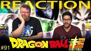 Dragon Ball Super [ENGLISH DUB] REACTION!! Episode 91