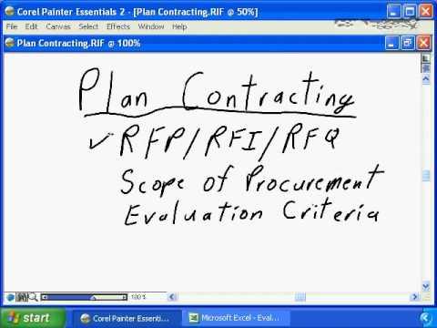 PMP® CAPM® Certification Exam PMBOK 5th  Edition Online Training Video - Project Procurement Managem
