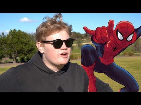 Spiderman but in Australia