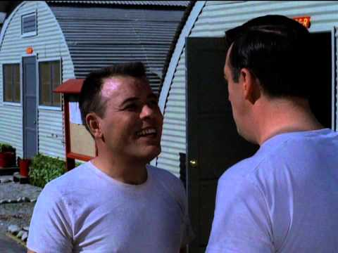 Funny fight breaks out between Gomer Pyle and Sgt. Carter