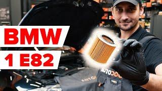 Kā nomainīt eļļas filtri un motoreļļa BMW 1 Sērija E82 [AUTODOC VIDEOPAMĀCĪBA]