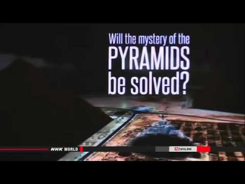 ● Japan's technology to be used to probe pyramids