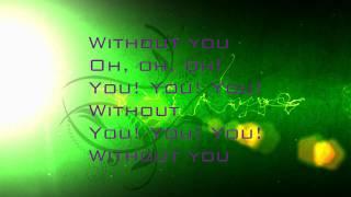 Without You - Megan Nicole (Lyrics)