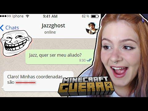 ENGANEI O JAZZGHOST: FINGI SER ALIADA DELE... - MINECRAFT GUERRA #5