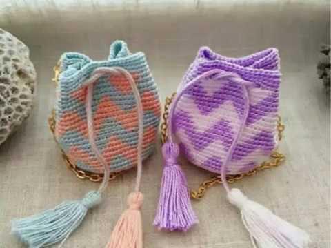 вязание крючком сумки рюкзаки