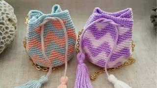 Вязание крючком. Сумки, рюкзаки