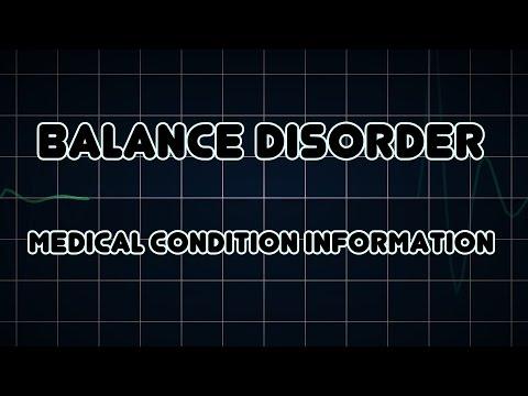 Balance disorder (Medical Condition)