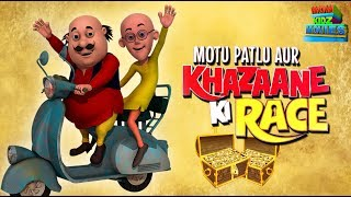 Motu Patlu Aur Khazana - Full Movie   Animated Movies    Wow Kidz Movies
