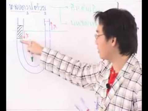 ฟิสิกส์ โดยครูเอก เรื่องสมบัติเชิงกลของของไหล  ตอนที่ 1/2