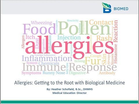 Allergies Getting to the Root with Biological Medicine mp4