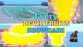 (Nok Piece) Showcase/Review EVERY {Devil Fruits}+Code