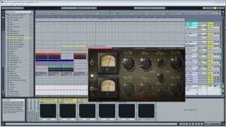 Mastering A Minimal Techno Track with Puigchild 670, SSL Comp and Enhanced EQ
