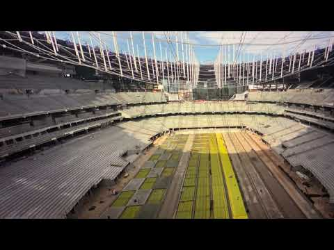 Las Vegas Stadium / Allegiant Stadium Seat Installations Start But Too Soon With The Roof Problem?