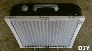 "Diy Air Filtration System!  - Homemade Air Purifier - Simple ""box Fan"" Conversion! - Very Effective!"