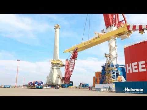 Installation, Commissioning and Testing 3,000mt Huisman Offshore Mast Crane