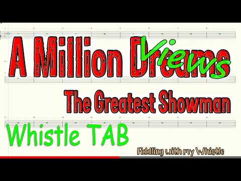 A Million Dreams - The Greatest Showman - Tin Whistle - Play