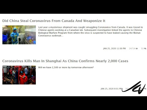 Did China Steal  Ebola and Coronavirus from Canada to Weaponize?