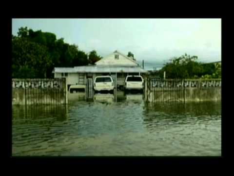 Flood in Corozal District August 2012