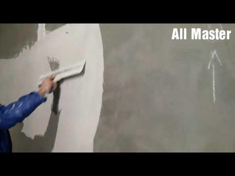 Как шпаклевать оштукатуренные стены